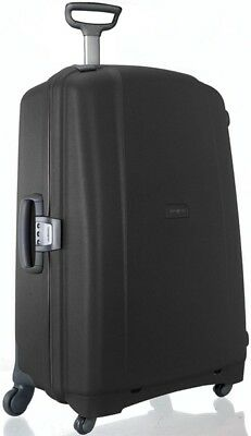 "Samsonite Luggage F'Lite GT 31"" Spinner 4 Wheeled Upright Suitcase - Black"