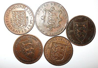 Jersey  Small  Collection  Of  Coins