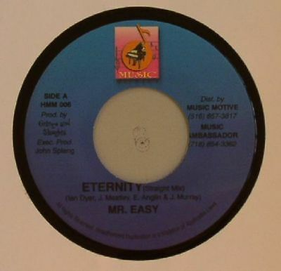 "MR EASY - Eternity - Vinyl (7"")"