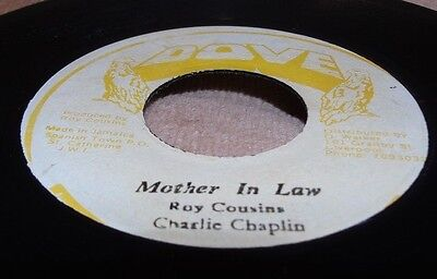 "Charlie Chaplin Mother In Law 7"" Roots Ja Copy"
