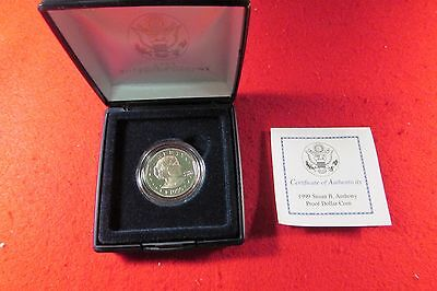 1999 Susan B. Anthony Proof Dollar Coin