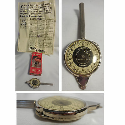Boxed Rare Brookstone Map Measurer Opisometer Made in W Germany + Instructions