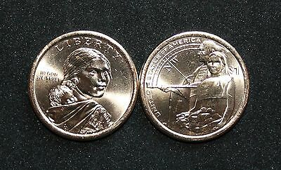 Native American ( SACAGAWEA ) 2014 Dollar D