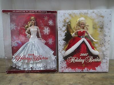 Holiday 2007 2008 Barbie Doll Collector Edition