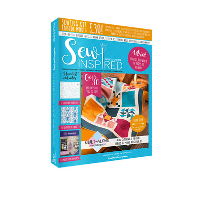 Crafter's Companion- Sew Inspired Magazine - Issue 10 -FREE Sewing Kit Worth £25