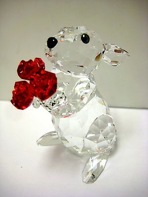Rabbit With Roses Swarovski Crystal Pieces 2015 Swarovski #5063338