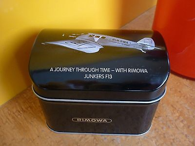 rimowa, junkers 13, dose in schwarz, journey through tim with rimowa,