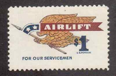 Scott #1341....$1.00....Airlift....5 Stamps
