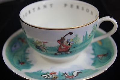 Warner Bros. Very Important Person Golf Coffee Cup & Saucer