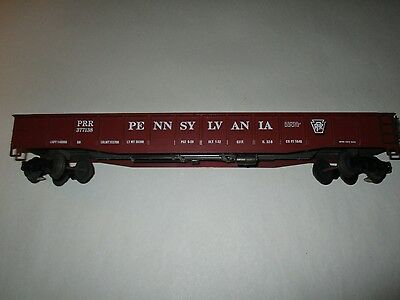 Atlas O Scale 50' Gondola 3 Rail Pennsylvania #377138