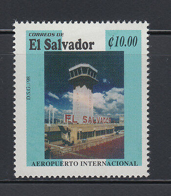 El Salvador 1998 International Airport Sc 1479  Mint Never Hinged