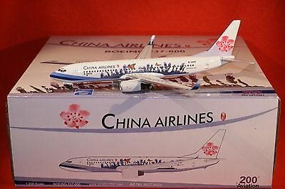 AV200 CHINA AIRLINES BOEING 737-800 reg B18610 1-200 SCALE
