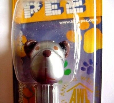 Silver Barky Brown Anniversary Pez Dispenser 2009 release Mint on Card