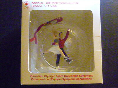 Canadian Olympic Christmas Ornament  FIGURE SKATING 2014