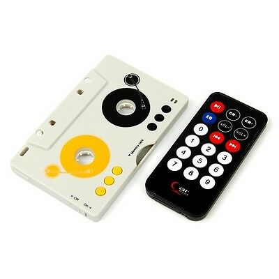 Retro Car Telecontrol Tape Cassette Remote MP3 Player USB Charger SD MMC Adapter