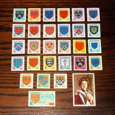 Jersey Mint Stamps Arms Of Jersey Families Definitives 1984 (24 Feb) -88
