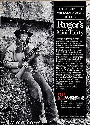 1988 RUGER Mini-Thirty Rifle AD