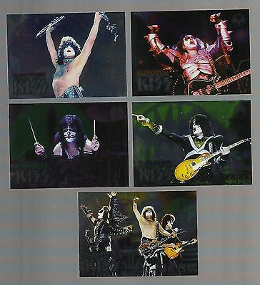 2009 Press Pass Kiss Complete (5 Card) Insert Set  Mint Rare Free Shipping