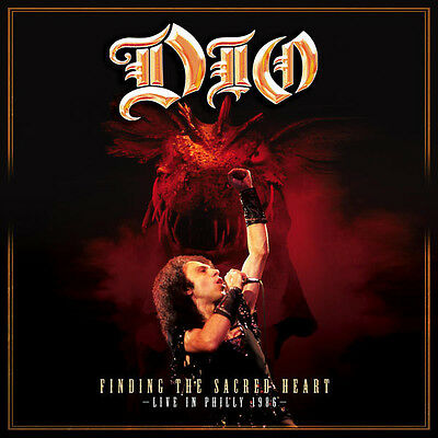 DIO - Finding The Sacred Heart - Live In Philly 1986 Vinyl 2LP NEW/SEALED