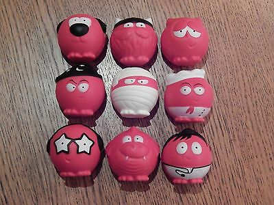 Red Nose Day Comic Relief 2017 rare set of 9 noses brand new