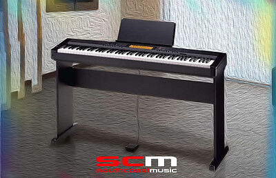 Casio Cdp230 Portable Digital Piano With Matching Cs44P Stand & Plug'n Play Pack