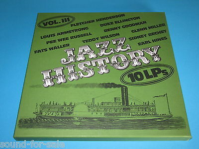 V.A. / Jazz History - Vol. III, 3 - 10 LP-Box