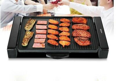 Multifunction Commercial Hot Plate BBQ Non Stick Stainless Steel Electric Grill