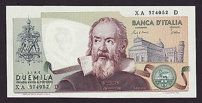 ITALY  -  2000 lire,1983  -  P 103c  -  REPLACEMENT  -  UNC