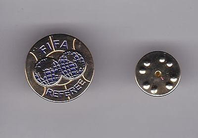 FIFA Referee  - lapel badge butterfly fitting