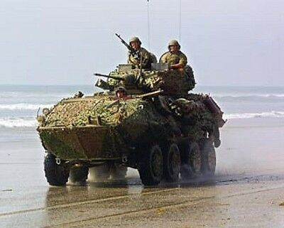 LAV-25 Light Armored Vehicle US Marine Corps USMC picture poster 8x10 photo