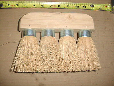 1 NEW ROOFING BRUSH 4 KNOT 8 x 6 3/4 MASONRY UTILITY CLEANING ROOF TOOL BRUSHES-
