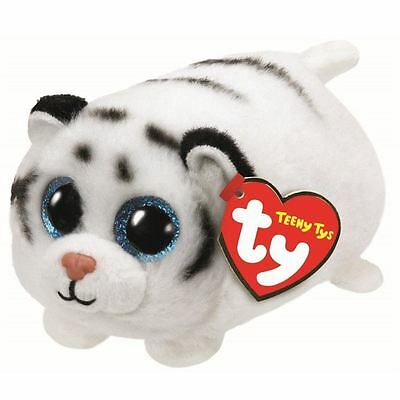 NEW Ty Beanie Teeny Tys Zack the White Tiger Plush Collectible Soft Toy Gift