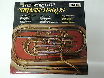 The World Of Brass Bands LP Vinyl Harry Mortimer (SPA20)