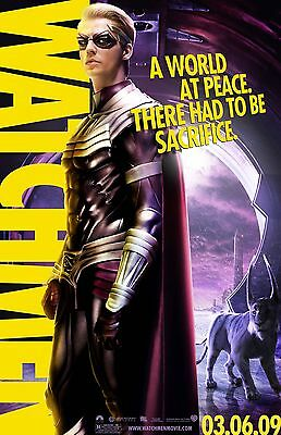 Watchmen Laminated Mini Movie Poster _Style 3 _A4 Free Post