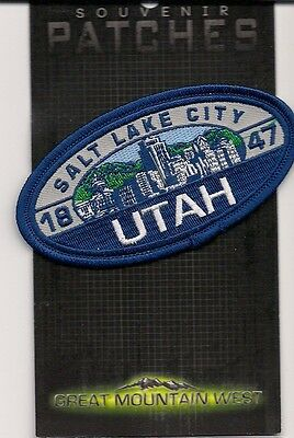 Salt Lake City Utah Souvenir  Patch - Since 1847