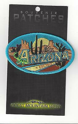 Colorful State Of Arizona Souvenir Patch