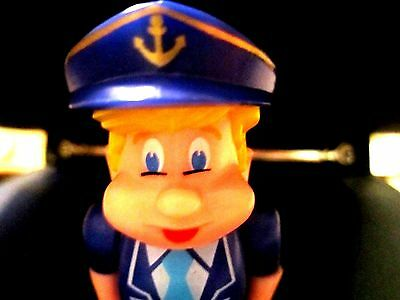 Retired Mariner Pez Pal with Body parts, blonde hair NON U.S. release MINT SHAPE