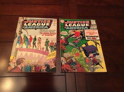Justice League of America 19 And 42