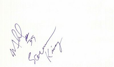 Autographed Index Card - Mike Williams Sacramento Kings Forward