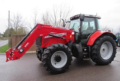 Massey Ferguson 6480 2007 Tier 3 Mf Tractor Fitted With Mf 966 Loader.
