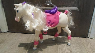 Barbie Walking Tawny Horse with Sounds  Battery Operated Walks on it's Own RARE