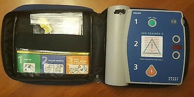 Philips HeartStart AED Trainer with Carry Case and Pads