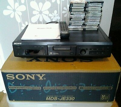 Sony Mds-Je330 Recordable Mini Disc Player In Vcg With Box & Instructions