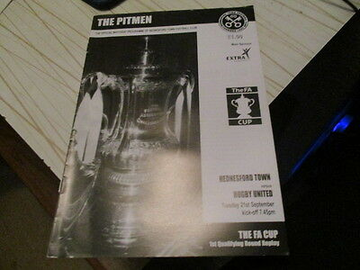 Hednesford Town  V  Rugby  Town  2004-5  Fa Cup  Replay