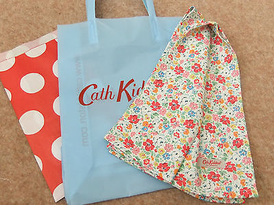 Cath Kidston Mews Ditsy Floral  Tea Towel & Gift Bags New