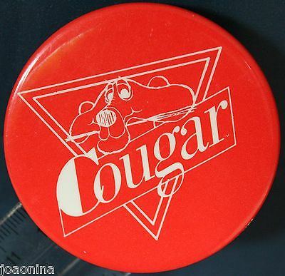 COUGAR BOOTS SHOES FOOTWEAR pin button pinback CANADA pillow ICONIC