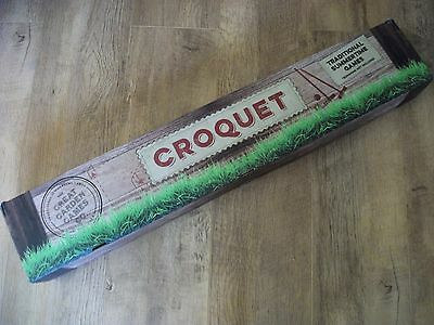 Croquet Set for 4 Players, by Great Garden Games Co - New Other, see details