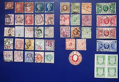 Great Britain - Collection Of Used Definitive & Pictorial Stamps
