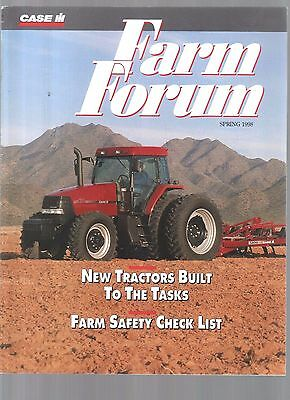 1998 Case Ih  International Tractor & Equipment Farm Forum Magazine Brochure
