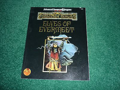 Elves of Evermeet  Forgotten Realms Game Accessory AD&D 2nd Edition TSR9430